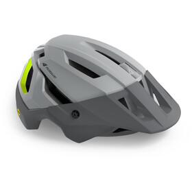 bluegrass Rogue Core MIPS Helmet, grey matte/fluo yellow glossy